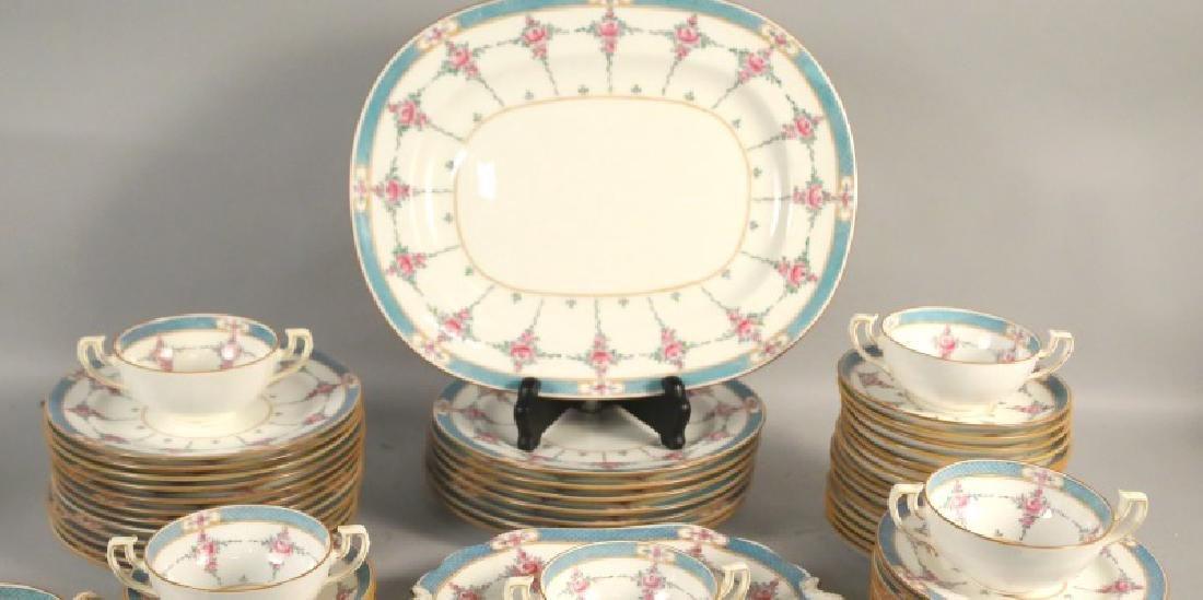 LOT OF 66-PIECES OF MINTON RYRIE BRO. DINNERWARE - 2