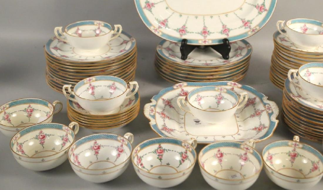 LOT OF 66-PIECES OF MINTON RYRIE BRO. DINNERWARE - 3