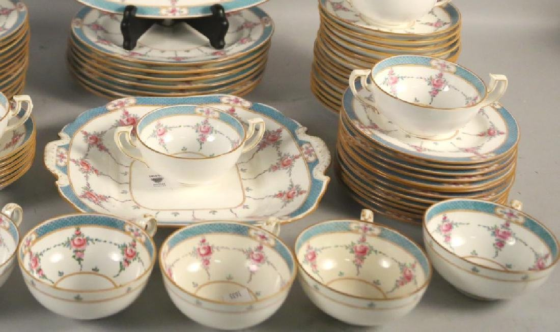 LOT OF 66-PIECES OF MINTON RYRIE BRO. DINNERWARE - 4