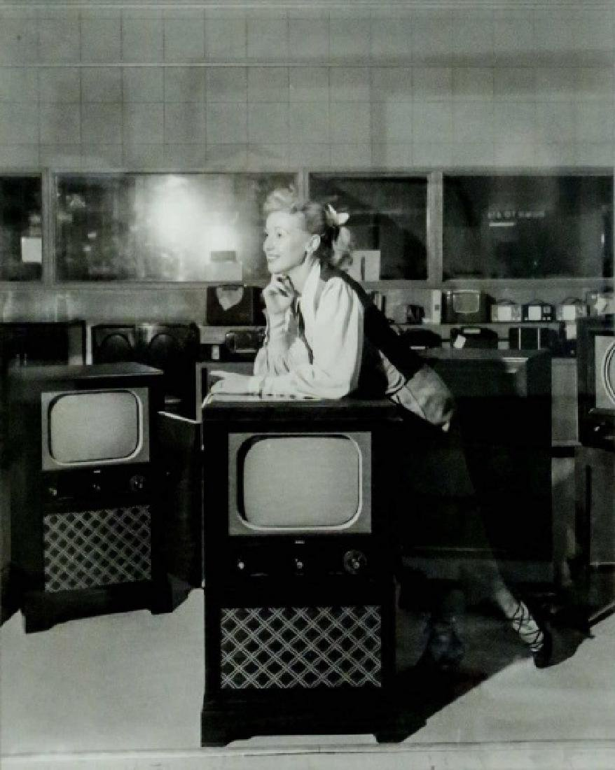 "BOB BAILEY ""FOLEY TV SHOWROOM, 1950"" PHOTOGRAPH"