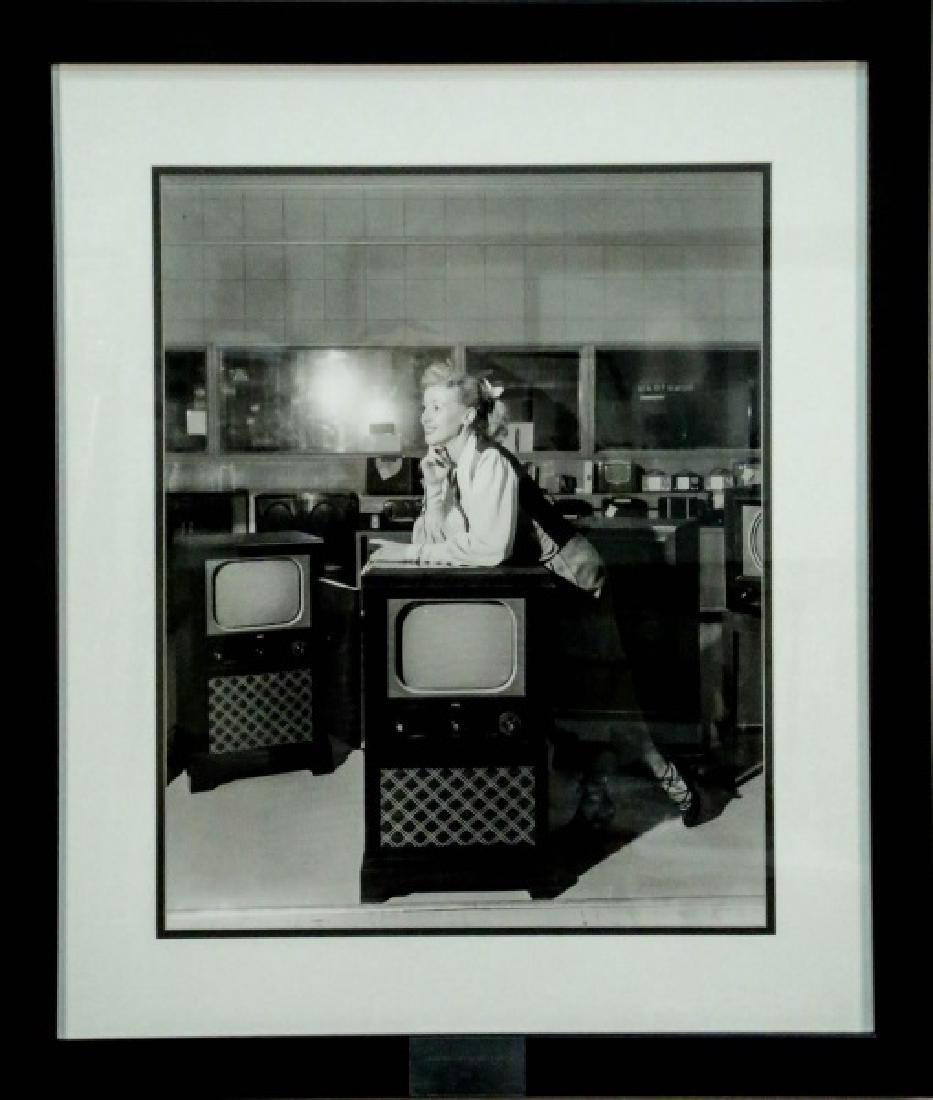 "BOB BAILEY ""FOLEY TV SHOWROOM, 1950"" PHOTOGRAPH - 2"