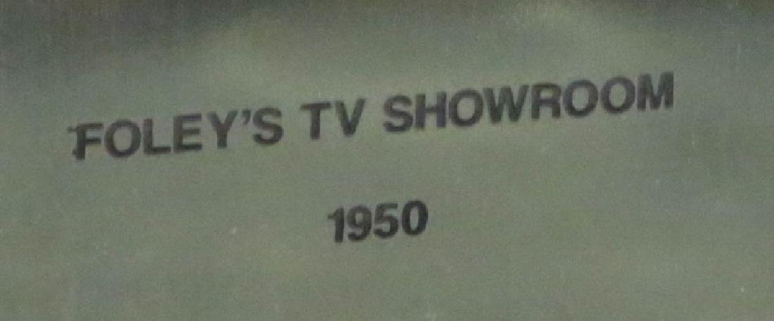 "BOB BAILEY ""FOLEY TV SHOWROOM, 1950"" PHOTOGRAPH - 3"