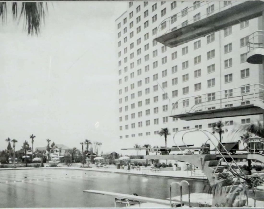 BAILEY BOB SHAMROCK HILTON HOTEL POOL PHOTOGRAPH