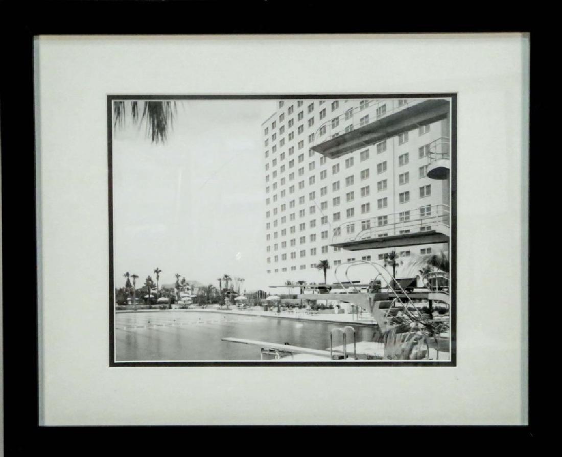 BAILEY BOB SHAMROCK HILTON HOTEL POOL PHOTOGRAPH - 2