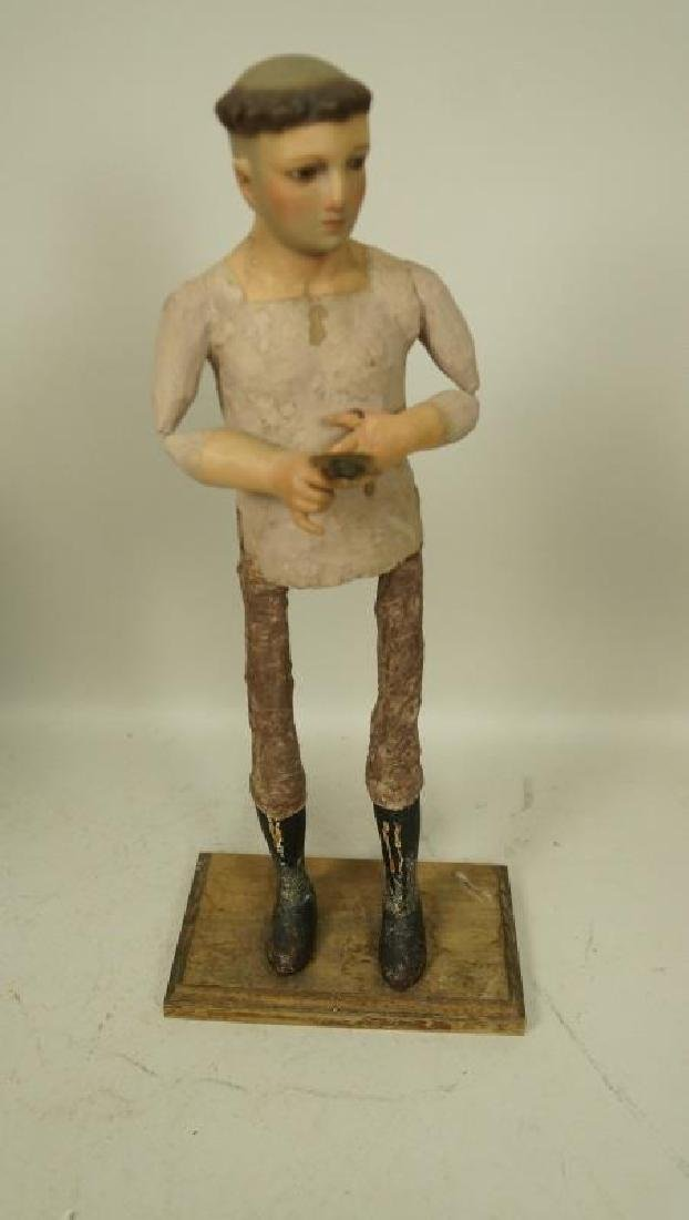 18th CENTURY ST. ANTHONY SANTO WITHOUT GARMENT