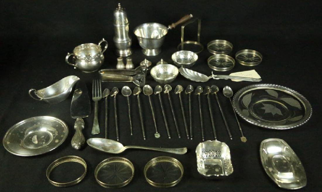 39-PIECE STERLING SILVER SERVING PIECES