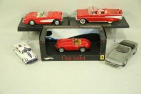 LOT OF 5 MODEL CARS