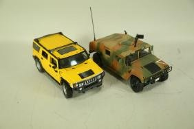 2 1:18 SCALE MODEL CARS