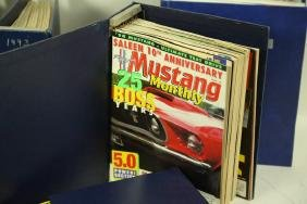 COLLECTIBLE MUSTANGE MONTHLY & PURELY PORSCHE