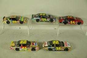 FIVE #24 JEFF GORDON 1:24 SCALE