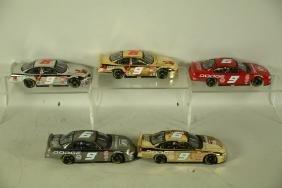 FIVE #9 BILL ELLIOT 1:24 SCALE MODEL CARS