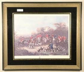"""BURY HUNT"" FRAMED PRINT"