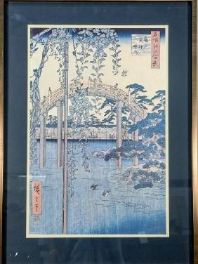 JAPANESE WOODBLOCK PHOTO PRINT