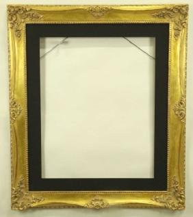 WOOD CARVED & GILDED PICTURE FRAME