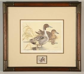 "KEN CARLSON ""PINTAILS"" TEXAS STAMP COLLECTION"