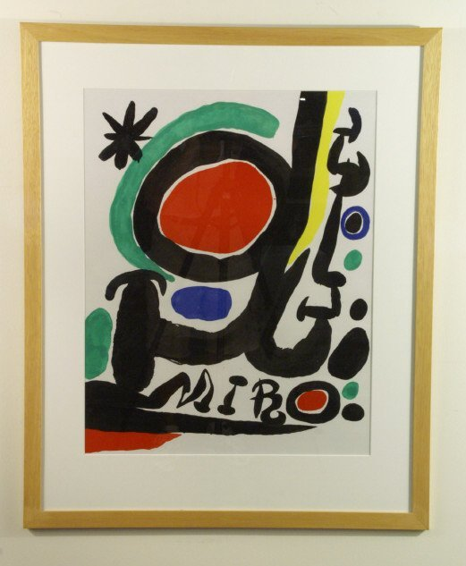228: Abstract image copy of Jean Miro