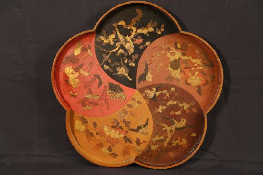 ANTIQUE JAPANESE LACQUERED TRAY