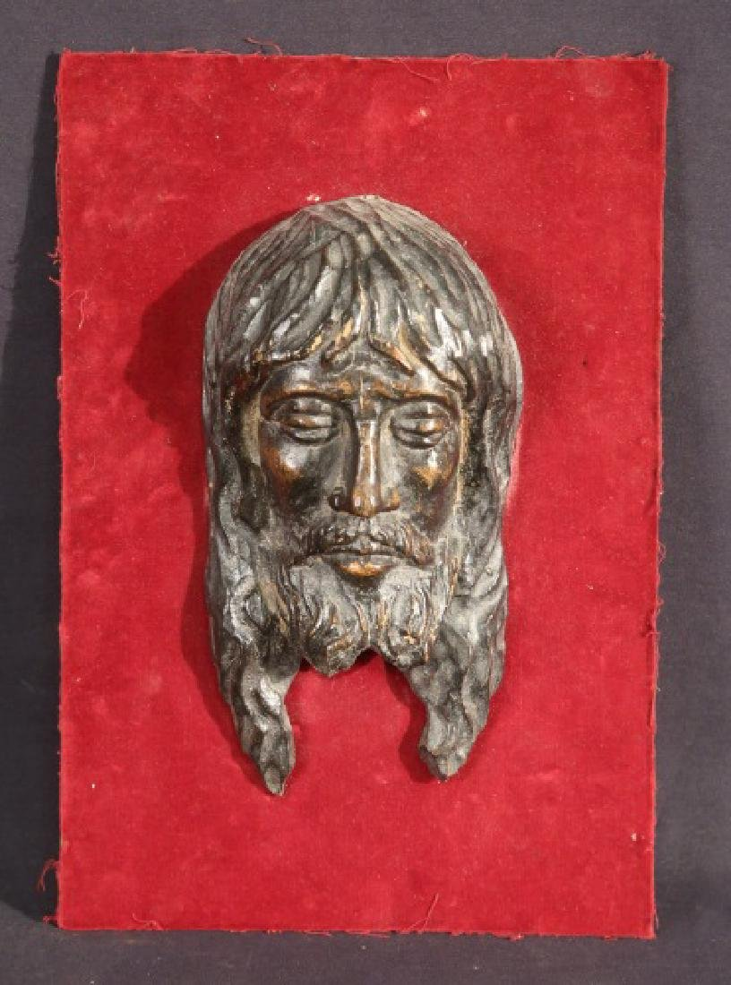 18th CENTURY  WOOD CARVED CHRIST RELIEF