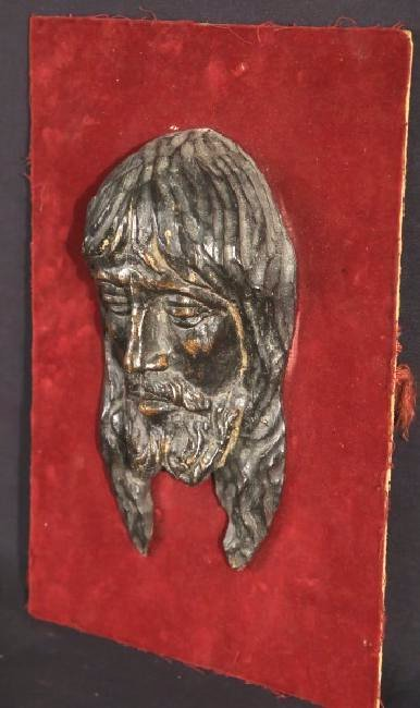 18th CENTURY  WOOD CARVED CHRIST RELIEF - 2