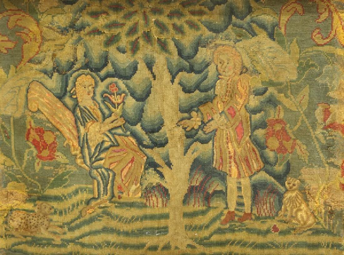 PAIR OF 18th CENTURY EUROPEAN TAPESTRIES - 2