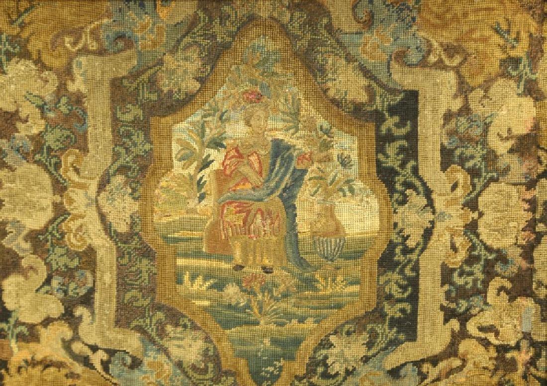 PAIR OF 18th CENTURY EUROPEAN TAPESTRIES - 3