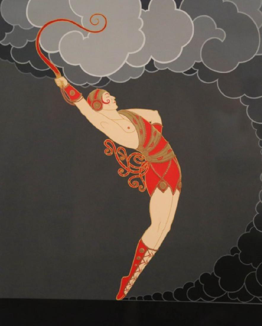 """ERTE """"THE DANCER"""" SERIGRAPH EDITION NUMBER 137/300 - 2"""