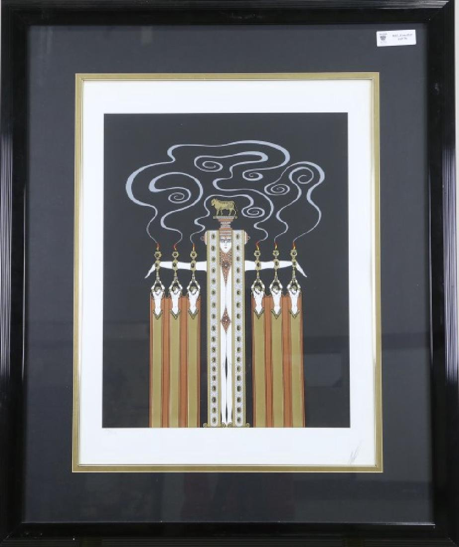 "ERTE ""THE GOLDEN CALF"" SERIGRAPH - 2"