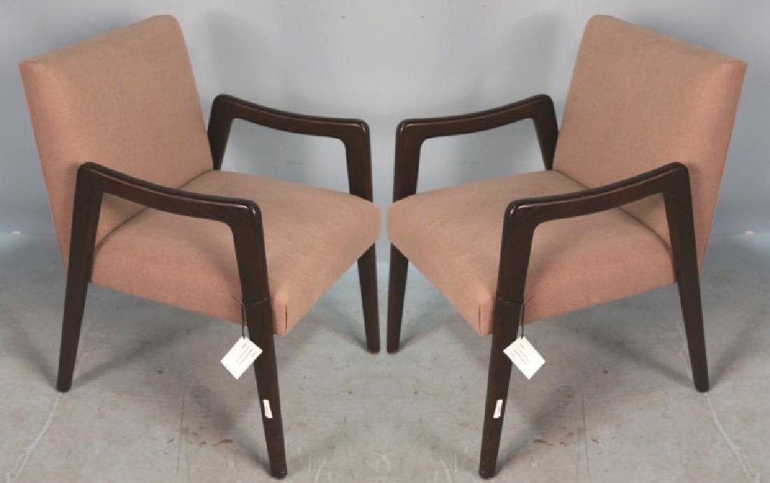 PAIR OF 1950's STYLE  LESLIE KENO DESIGNED CHAIRS