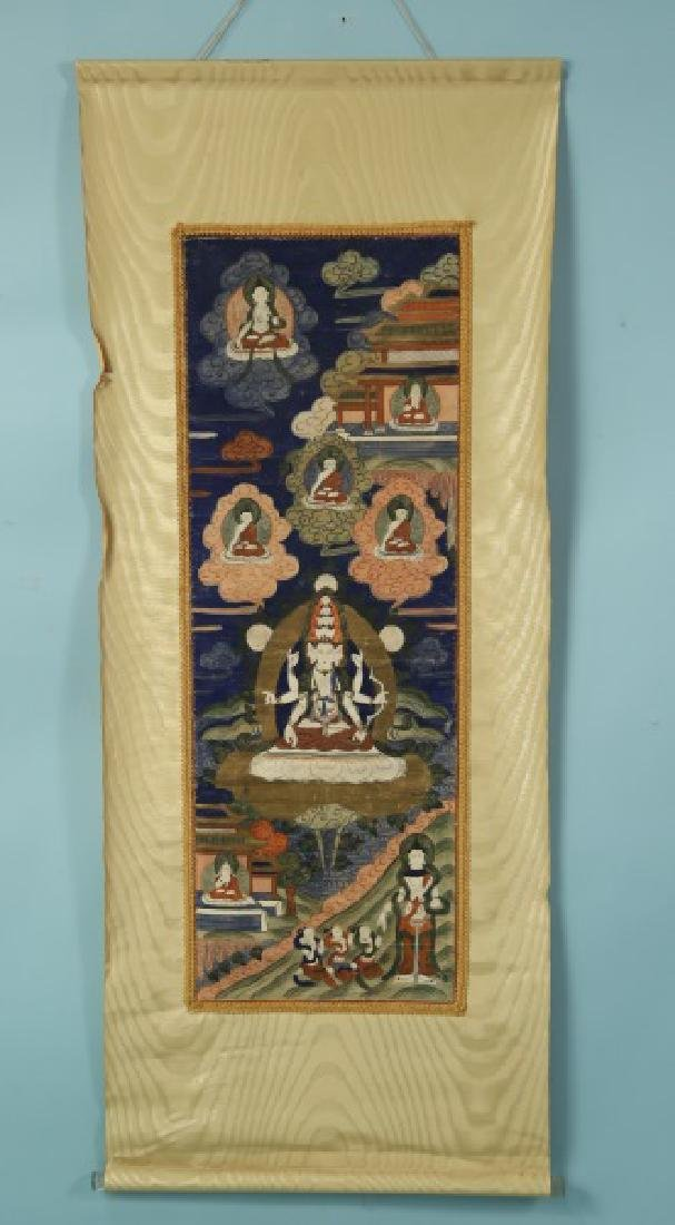 19th CENTURY TIBETAN THANGKA