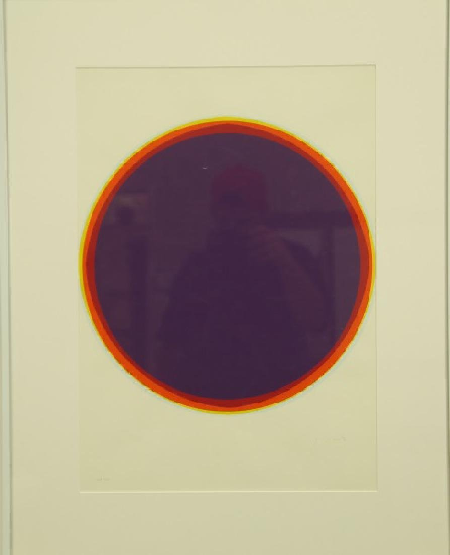 "QUINK ""MODERN CIRCLE"" HAND SIGNED & EDITION #108/150 - 2"
