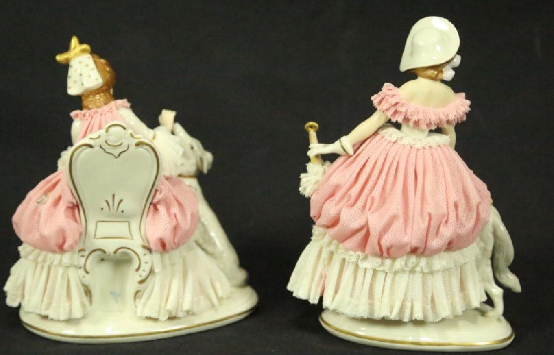 TWO EARLY 20th CENTURY GERMAN PORCELAIN FIGURES - 2