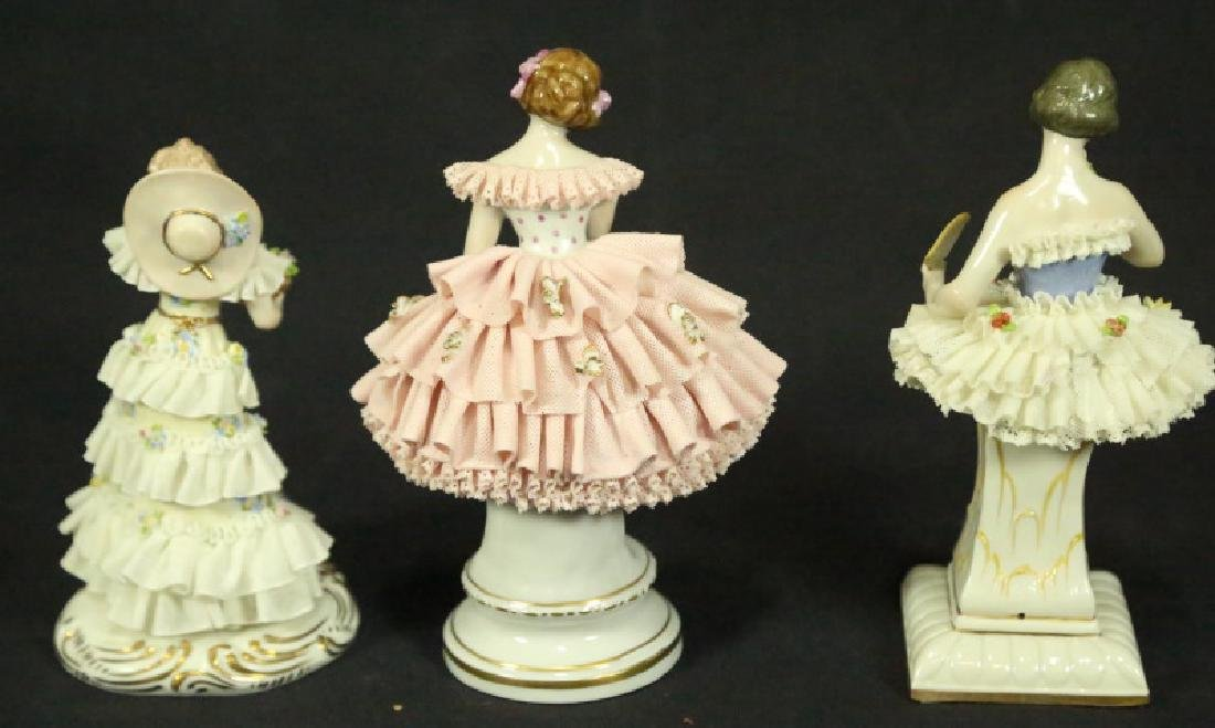 THREE EARLY 20th CENTURY GERMAN PORCELAIN FIGURES - 2