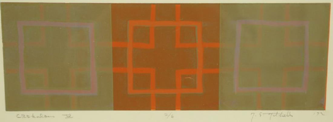 """T. E. THILTHELS """"CREDULOUS"""" SIGNED & #2/6, 1972"""