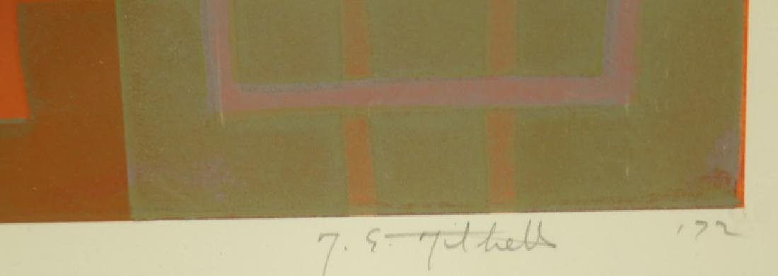 "T. E. THILTHELS ""CREDULOUS"" SIGNED & #2/6, 1972 - 4"