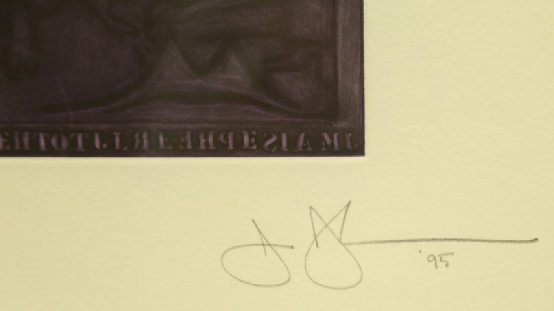 SIGNED AND NUMBERED IMPRESSION ON PAPER - 3