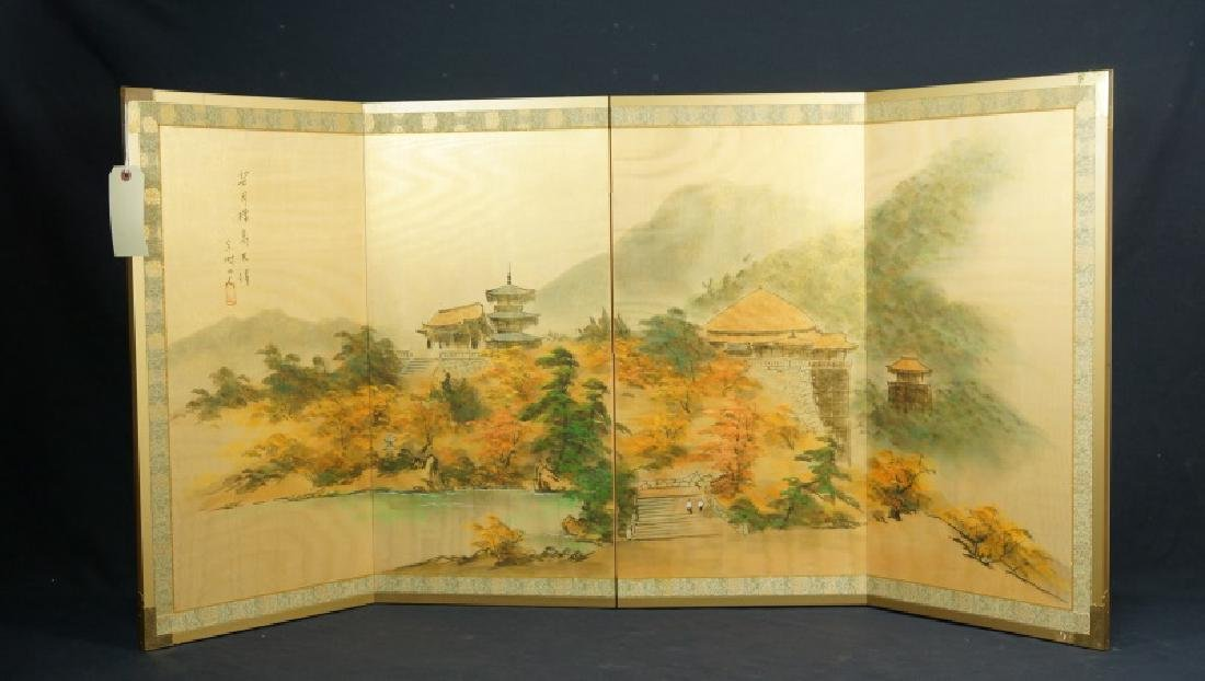 CHINESE WALL MOUNTABLE FOLDING SCREEN
