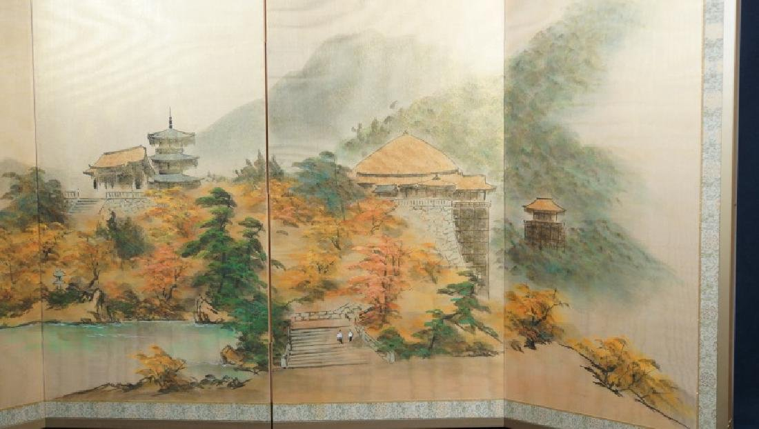 CHINESE WALL MOUNTABLE FOLDING SCREEN - 2