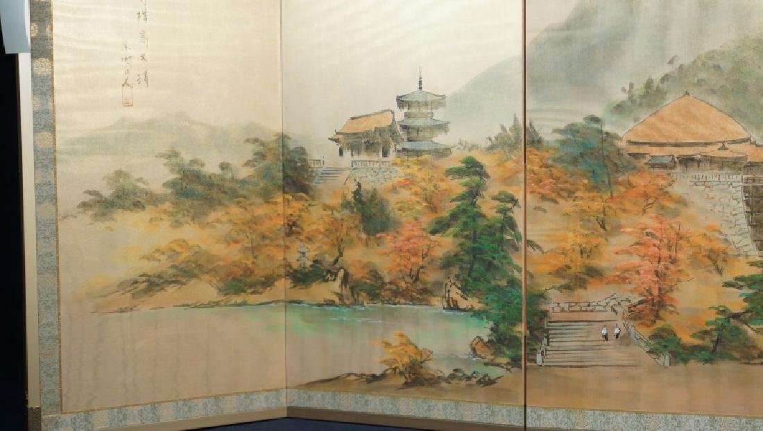 CHINESE WALL MOUNTABLE FOLDING SCREEN - 3