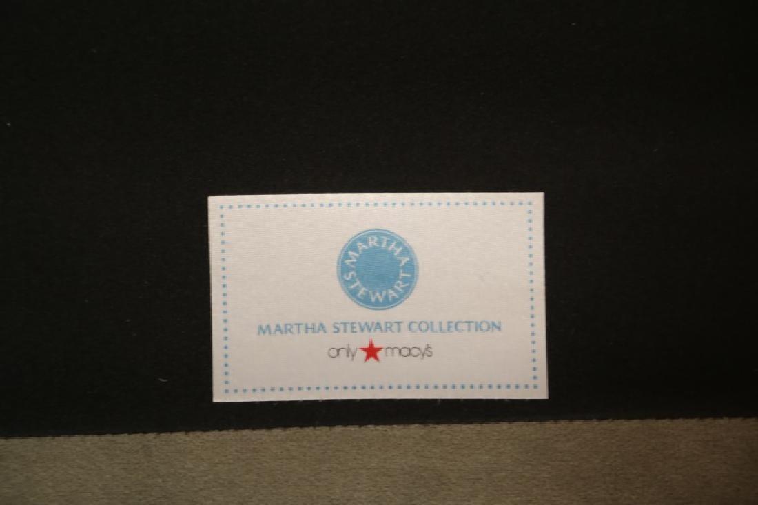 MARTHA STEWART COLLECTION VELVET CHESTERFIELD SOFA - 2