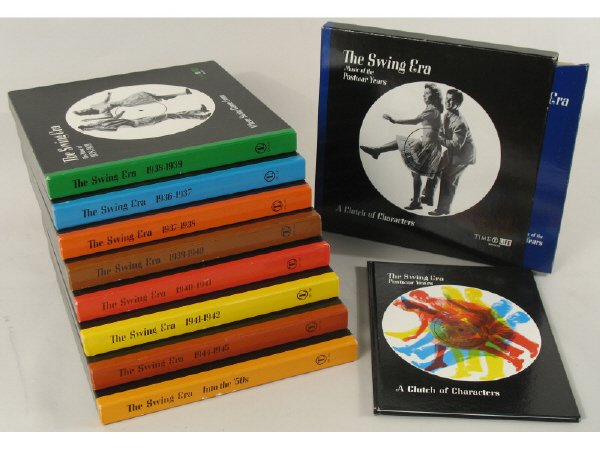 4: Complete set of Time Life Music Series LPs