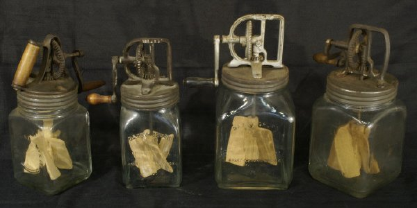 12: Set of 4 antique blenders