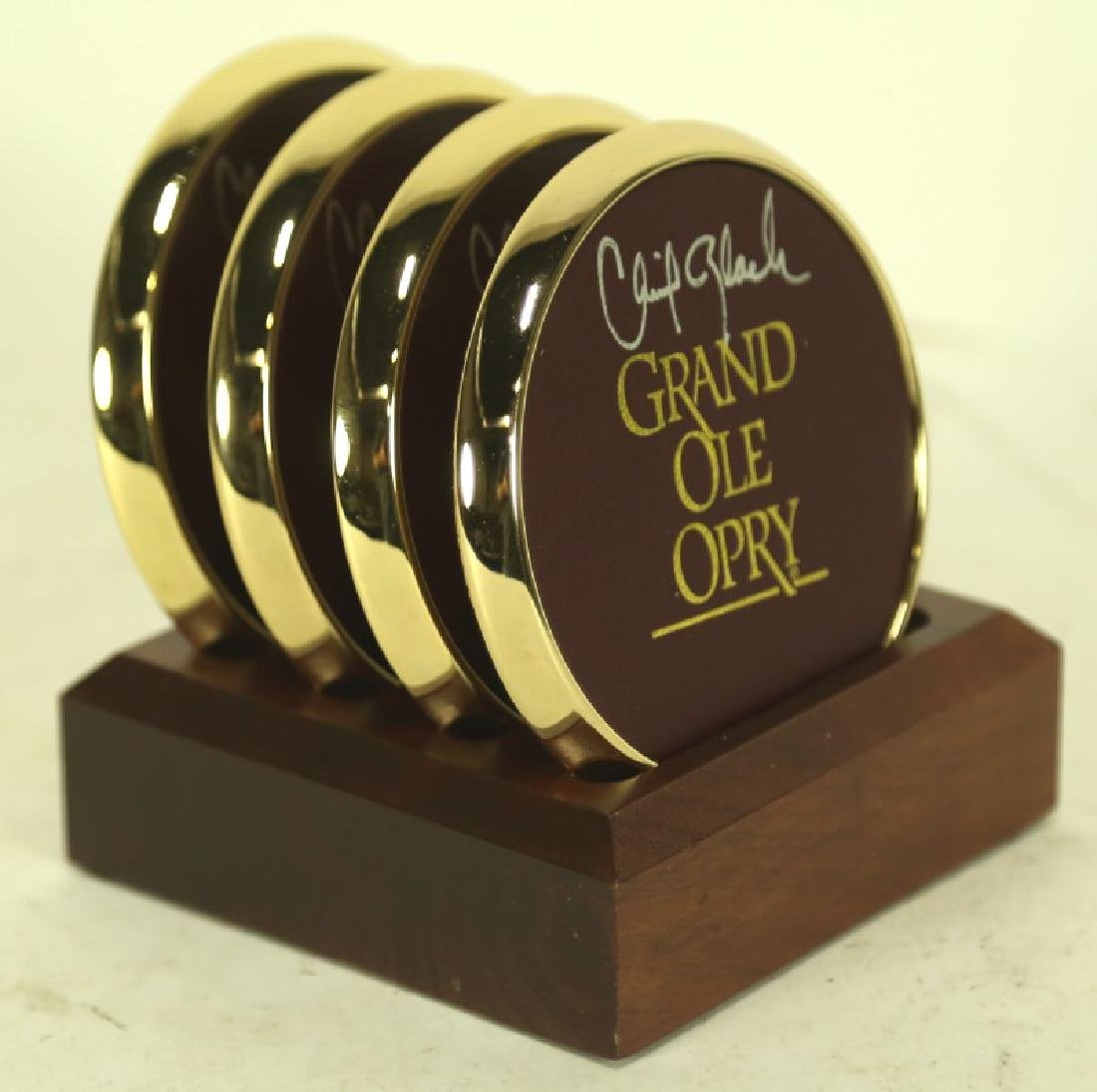 GRAND OLE OPRY AUTOGRAPHED COASTERS