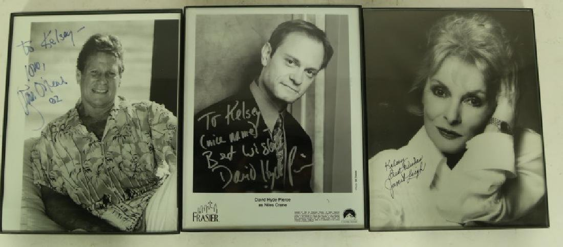 MIXED LOT OF AUTOGRAPHED HOLLYWOOD STARS - 3