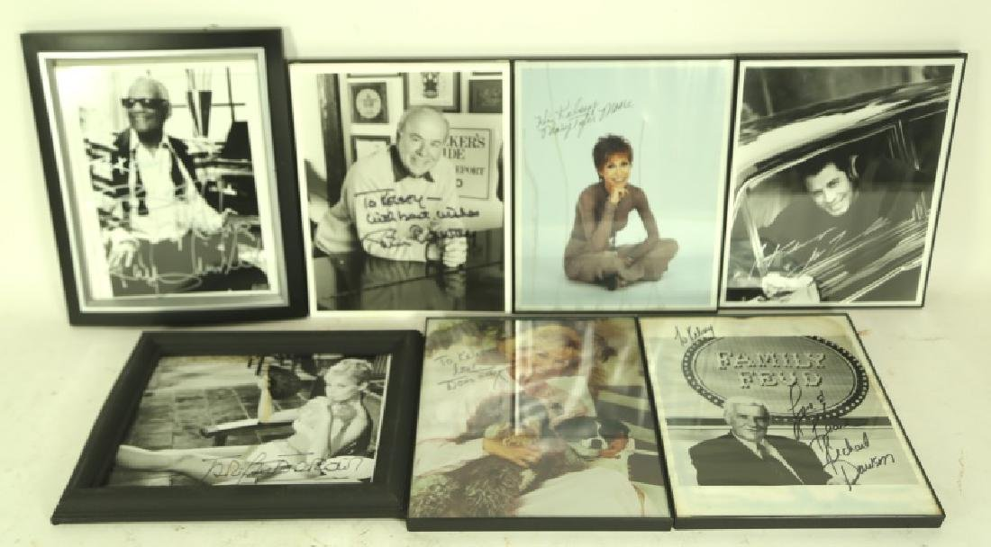 MIXED LOT OF AUTOGRAPHED HOLLYWOOD STARS