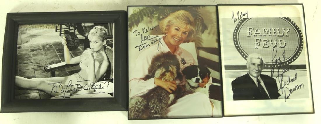 MIXED LOT OF AUTOGRAPHED HOLLYWOOD STARS - 2