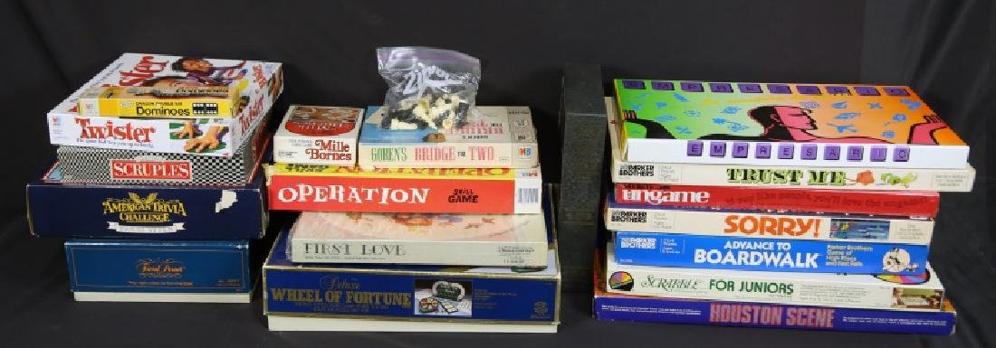 MIXED LOT OF VINTAGE BOARD GAMES