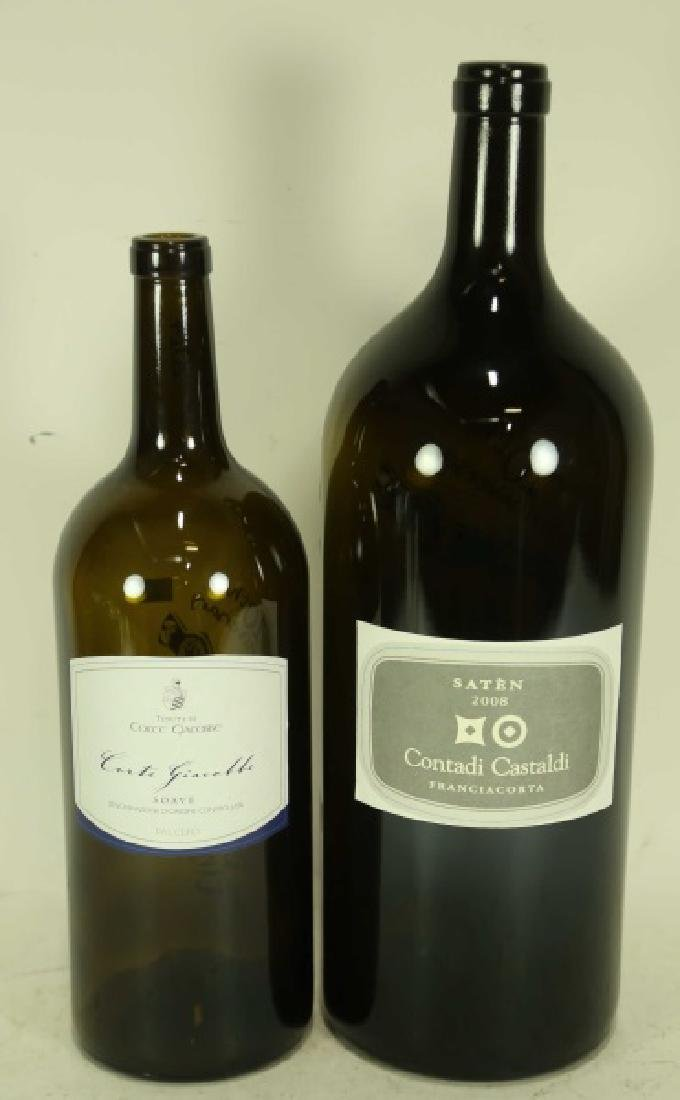 TWO COLLECTIBLE WINE BOTTLES