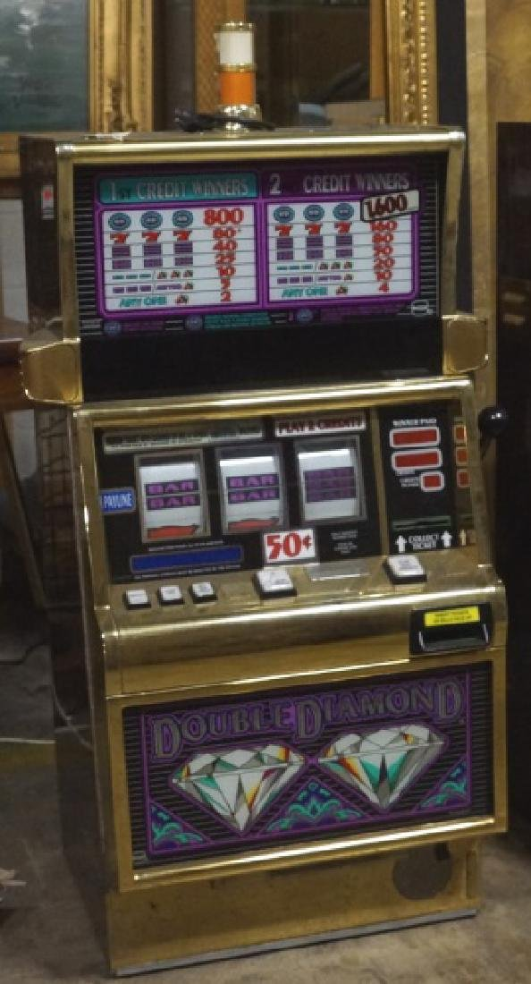 DOUBLE DIAMOND SLOT MACHINE