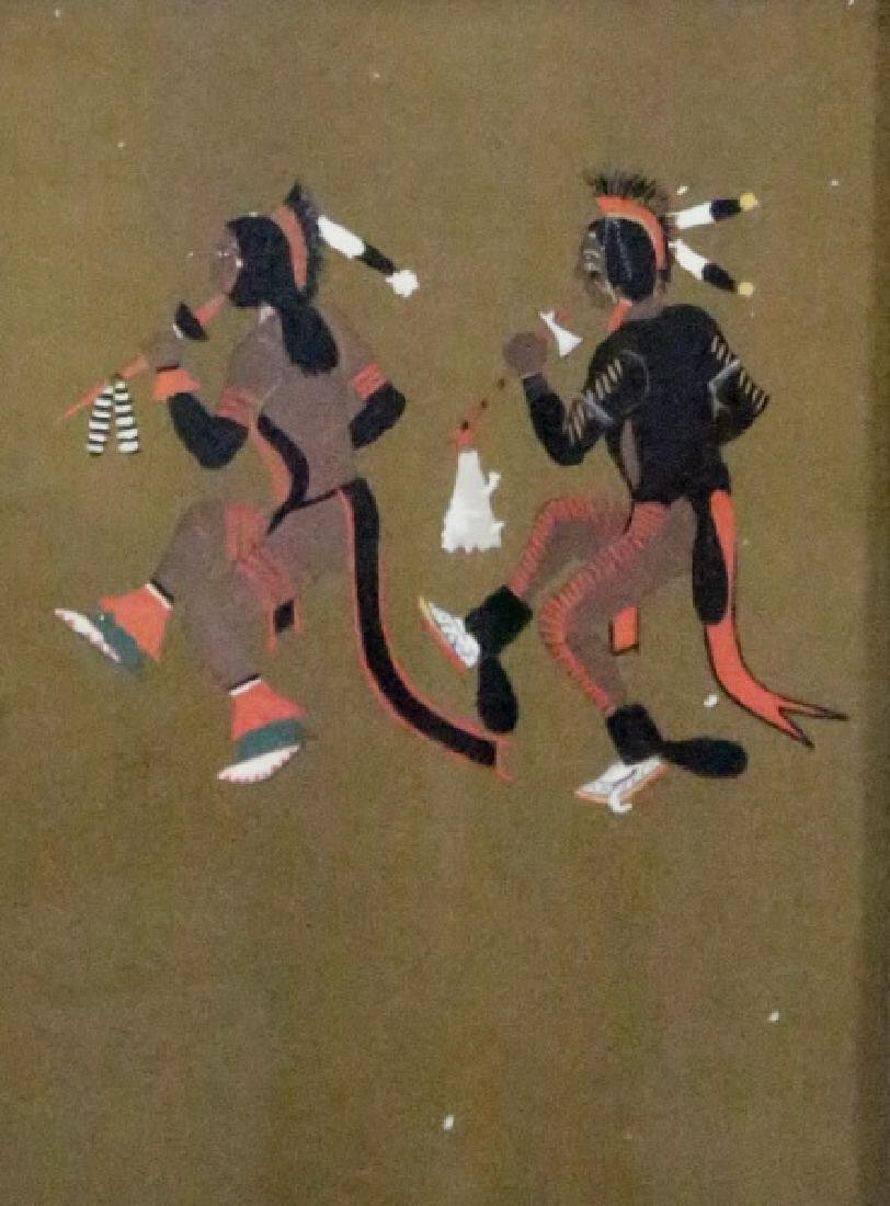 LOT OF FOUR NATIVE AMERICAN OFFSET LITHOGRAPHS - 5