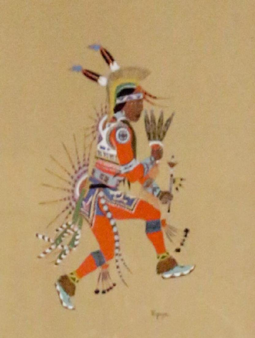FOUR NATIVE AMERICAN OFFSET LITHOGRAPHS BY STEPHEN - 3